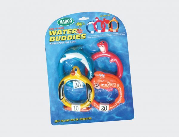 Dive Animals Rubber (4 Pack)-0