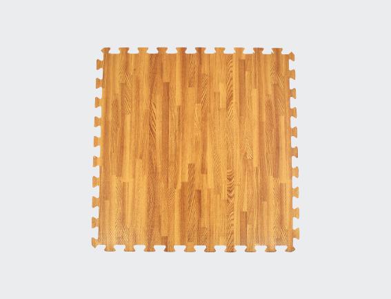 Floor Mats Wood Set Of 4