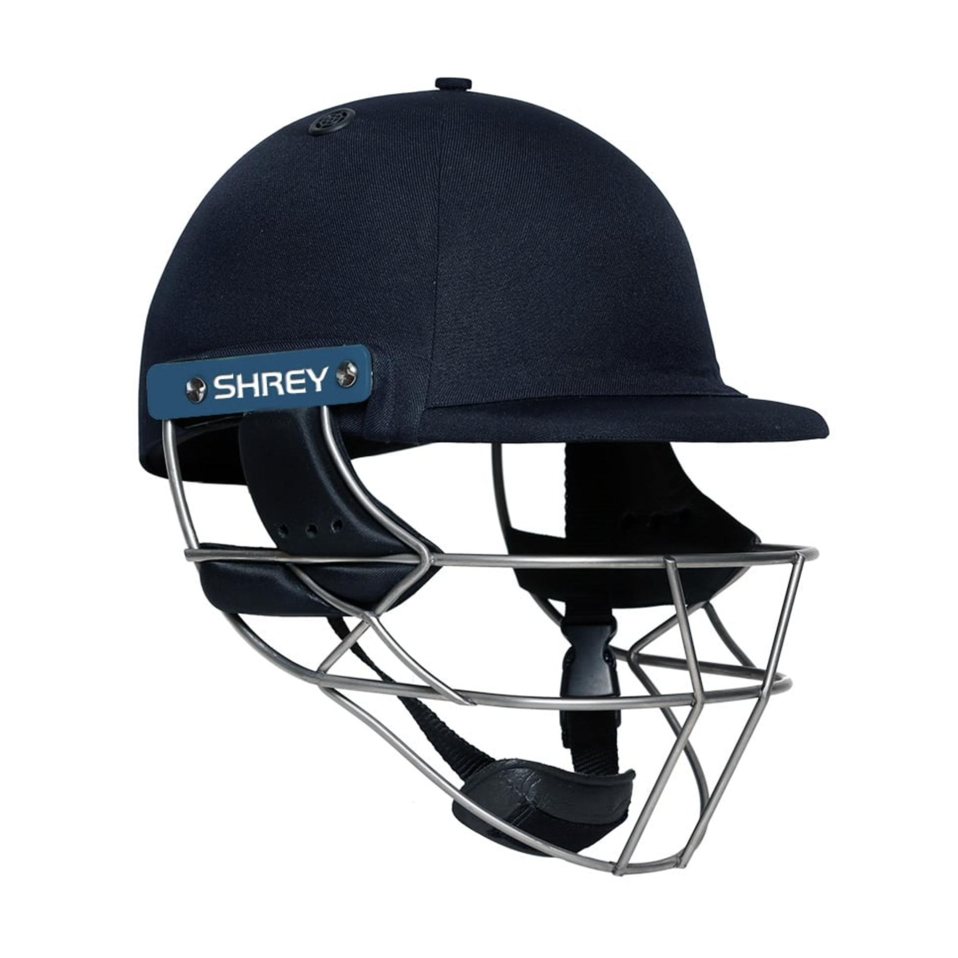 Red Shrey Armor 2.0 Steel Cricket Batting Helmet